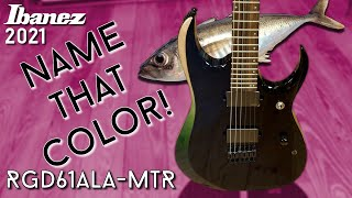 A fishy metal beast! Ibanez RGD61ALA-MTR Review