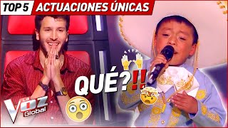 The MOST UNIQUE performances in La Voz Kids