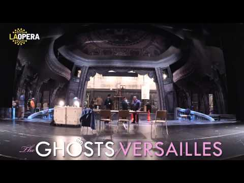 The Ghosts of Versailles: Building the Set on the LA Opera Stage (Timelapse)