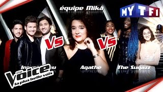 Incantèsimu VS Agathe VS The Sugazz | The Voice France 2017 | Epreuve Ultime