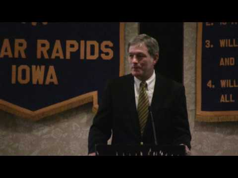 Kirk Ferentz talks about Robert Gallery and Dallas Clark