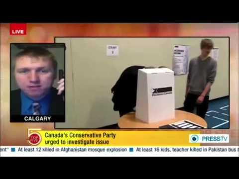 PRESS TV: Canadian Judge Confirms Election Fraud for Stephen Harper's Election 2011