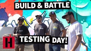 Hangin' With The Boys! The Build & Battle Gymkhana GRiD Testing Day Story