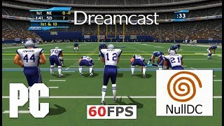 SEGA NFL 2K2 Dreamcast on PC 16:9 HD 60fps nulldc emu (Sega, 2001)