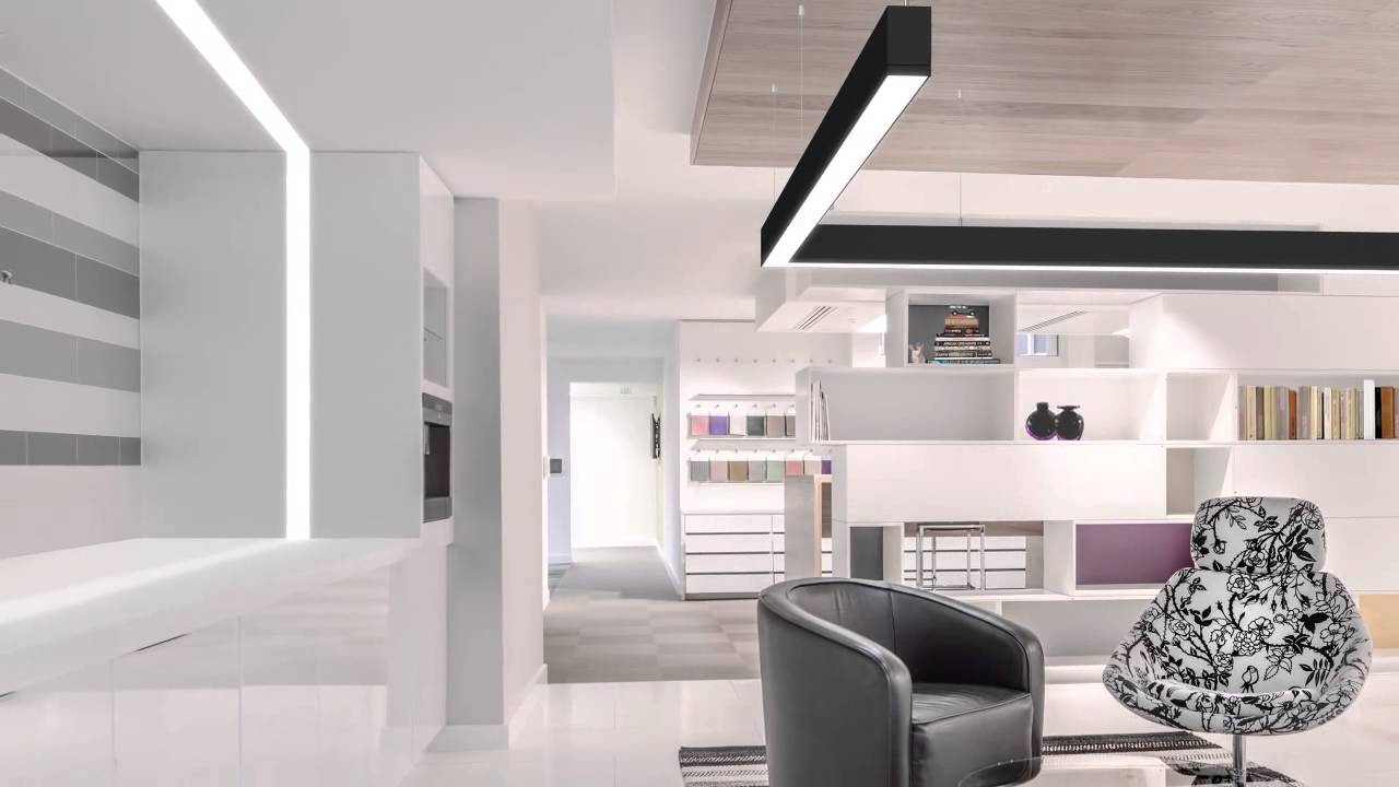 Philips Ledalite Trugroove Led Surface Suspended And