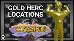 Kingdom Hearts 3 | All 5 Gold Herc Figure Locations Olympus | How to Get Hero's Belt