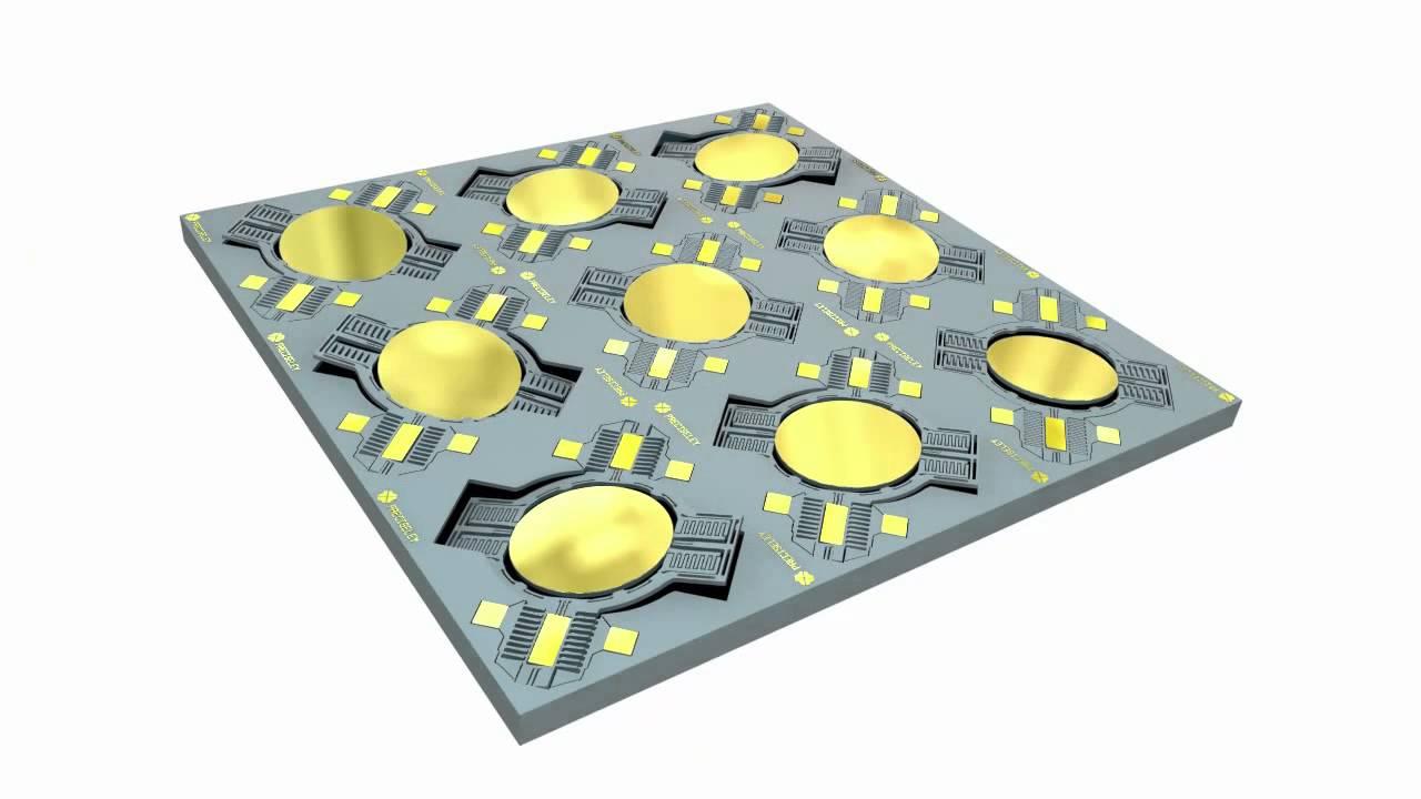 MEMS Mirror Array - Preciseley Microtechnology Corp