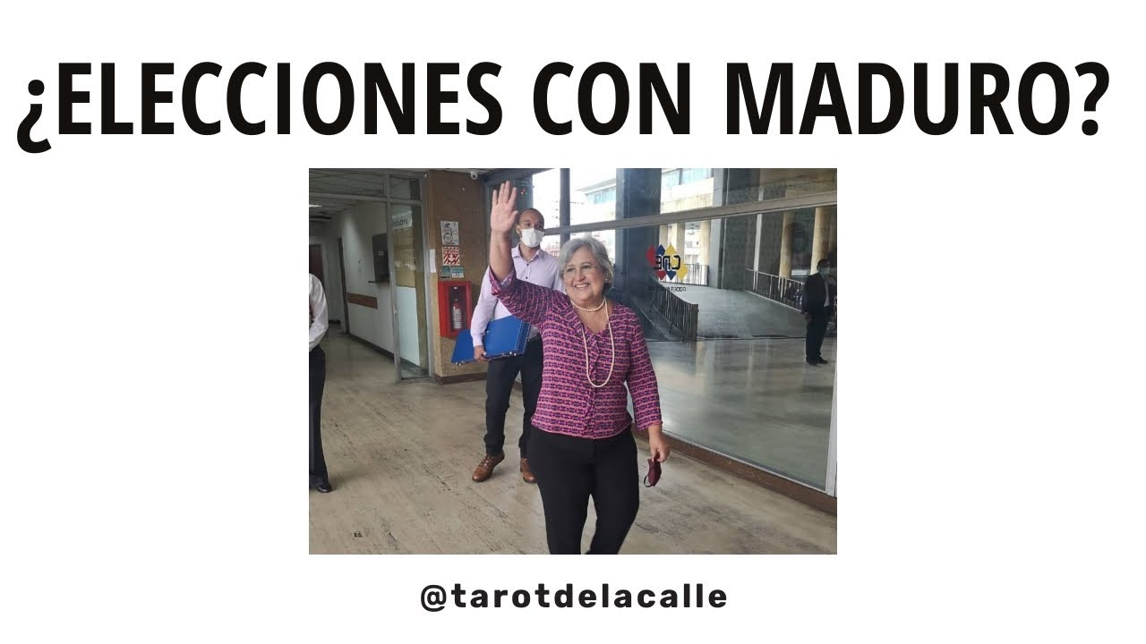 ¿ELECCIONES CON MADURO? | @tarotdelacalle