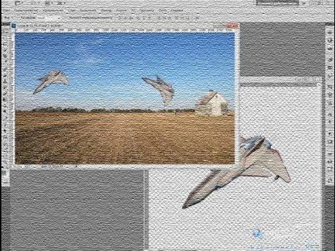как в фотошопе развернуть фото в другую сторону