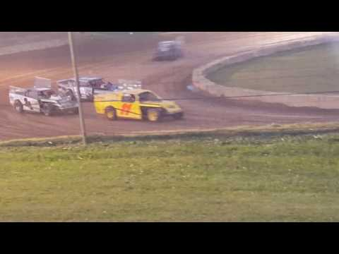 Shadyhill Speedway IMOD 1st heat October 8th 2016