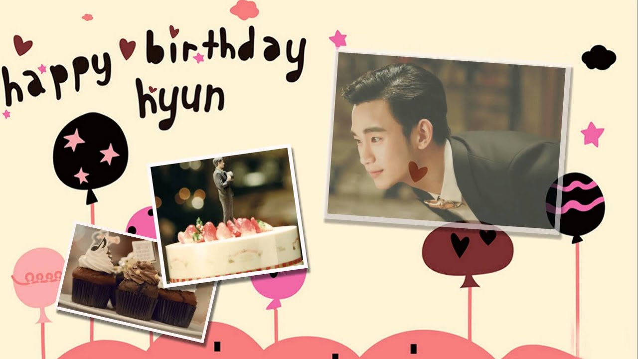 Kim Soo Hyun HAPPY BIRTHDAY Warm Soo