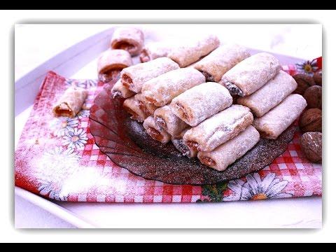 Brze prhke štrudlice sa pekmezom - Crisp Cookies with Jam