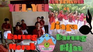Yel-Yel Pramuka Siaga Barung Merah dan Barung Hijau SDN Kuwawur 01