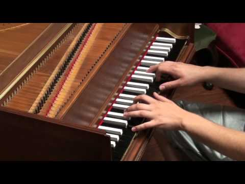 The Piano man performed on a harpsichord