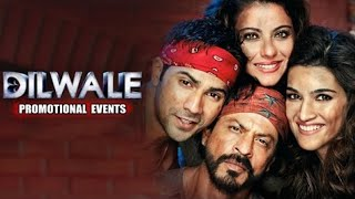 dilwale 2015 promotion events full video shahrukh kajol varun kriti