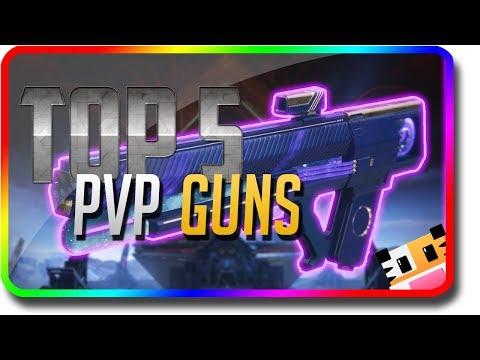 "Destiny 2 - ""Top 5 PvP Guns"" in Crucible & PvP (Destiny 2 Warmind DLC ""Top 5"")"