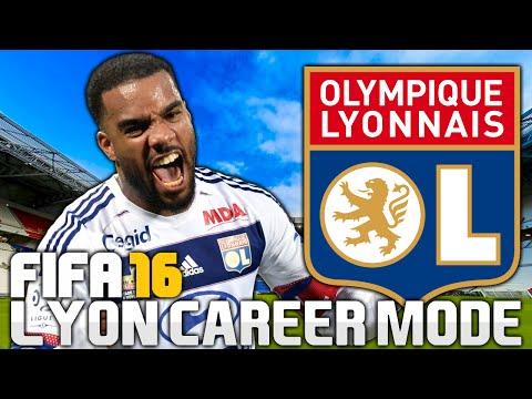 FIFA 16 | Olympique Lyonnais Career Mode | Pilot #1