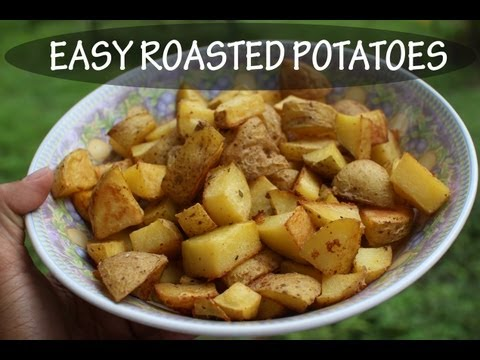 Easy Roasted PotatoesGluten Free & Vegan Recipe