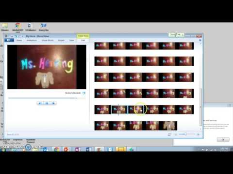 How To Edit Stop Motion With Windows Movie Maker
