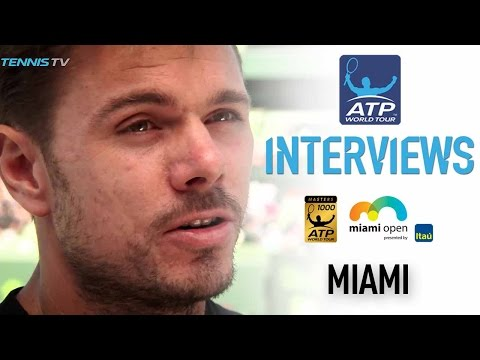 Wawrinka Not Feeling The Pressure As Miami 2017 Top Seed