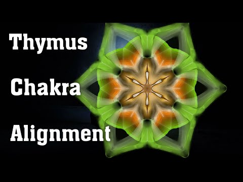 Thymus Chakra Activation And Alignment (Higher Heart Chakra)