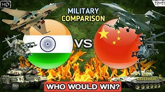 India Vs China Military Power 2020 - Military/Army Comparison (Hindi)
