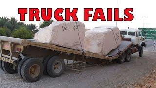 TRUCK FAILS COMPILATION 2016 -100 Крушения грузовиков!
