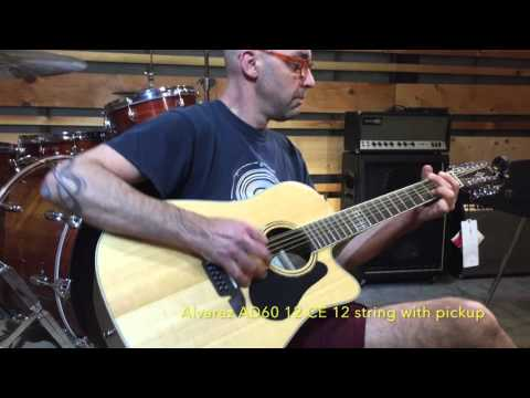 Alvarez  AD60 12 CE | Earthshaking Music Presents...