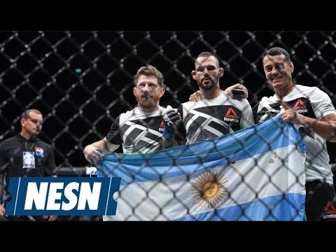 Santiago Ponzinibbio Calls Out Donald Cerrone For Chile Showdown