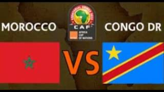 Morocco vs Congo | Live Match | Football : The World