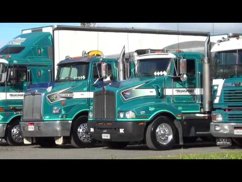 Trucks NZ Dennis Brown line up