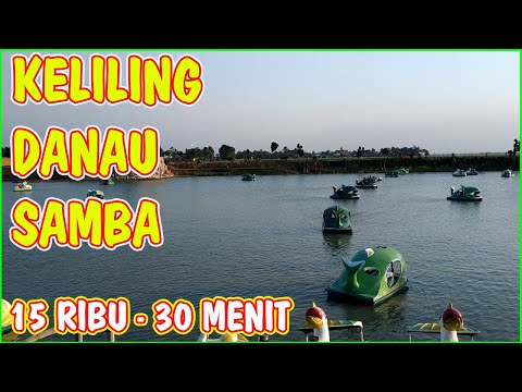 naik-perahu-di-wisata-danau-arjuna-samba-tambelang-cikarang-bekasi