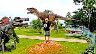 공룡 나타났어요! 살려주세요~ 예준이의 공룡 곤충 박물관 동물 탐험 거미 개미 어린이 체험 공원 Dinosaurs Museum Insects Park for Kids