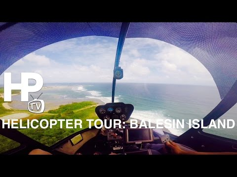 VIP Helicopter Tour: Balesin Island Luzon Philippines by HourPhilippines.com