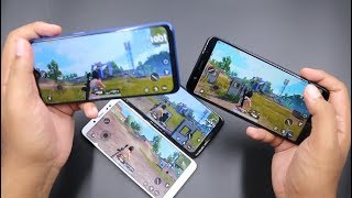 Realme 2 Pro vs Redmi Note 5 Pro vs Motorola One Power vs Asus Zenfone Max Pro M1 Pubg Gaming Test