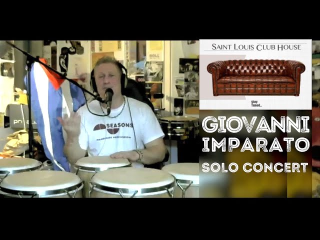 Giovanni Imparato | Solo concert | Saint Louis Club House