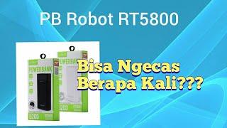 Unboxing Powerbank Robot RT5800 5200mAh