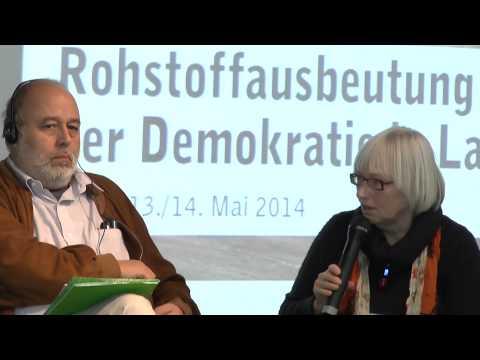 Podium: Globale Verantwortung - Anforderungen an deutsche und europäische Politik und Wirtschaft