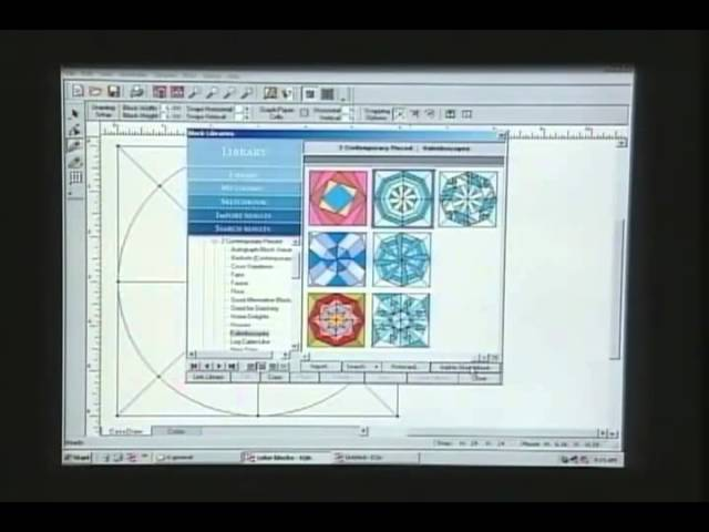 Quilting Software Overview Electric Quilt On Quilting Arts 307 Youtube