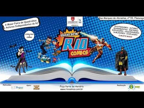 RIO COMICS 2018 - PAPO COM NATAN #23