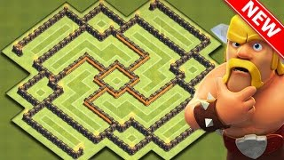 EPIC TOWN HALL 8 FARMING BASE! | Clash Of Clans - BEST TH8 Farming BASE!
