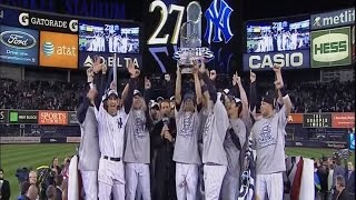 I Was There When: Yankees Clinch #27