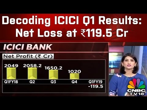 Decoding ICICI Q1 Results: Net Loss at ₹119.5 Cr | CNBC TV18