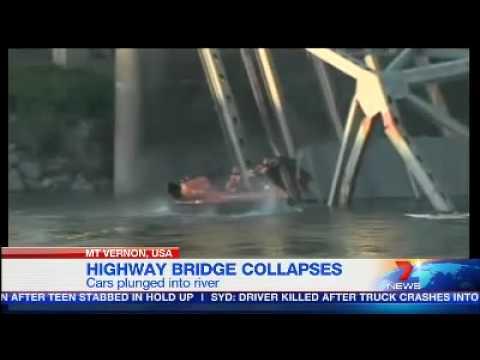 US highway bridge collapses
