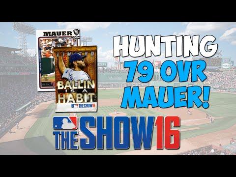 Rookie Flashback Joe Mauer Hunt! | MLB The Show 16 Diamond Dynasty - 20K Stub Pack Opening