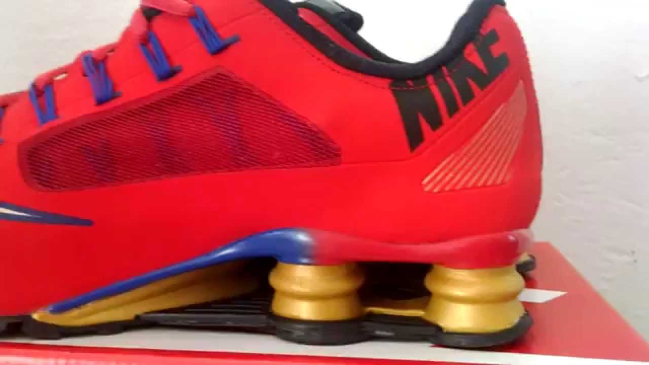4f6911420e Tênis Nike Shox Superfly R4 QS vermelho - YouTube