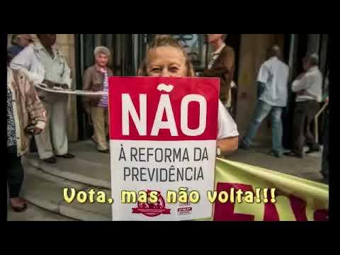 """Marchinha """"Se votar, não volta"""" dá recado a parlamentares"""