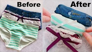 Over 10 Amazing Folding Clothes Life Hacks will Save Your Room