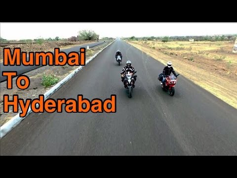 Mumbai To Hyderabad | By Road | Drone shot
