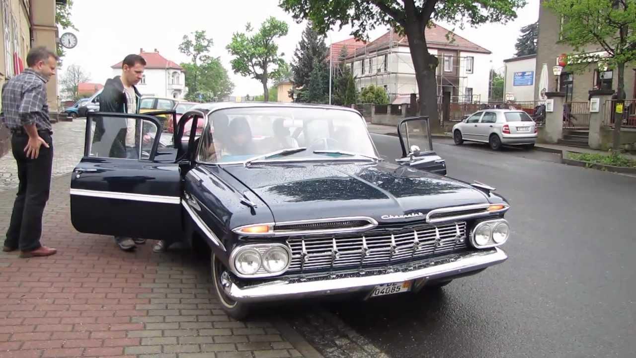 Fahrt Mit Einem Richtigen Chevrolet Bel Air 1959 Das Auto